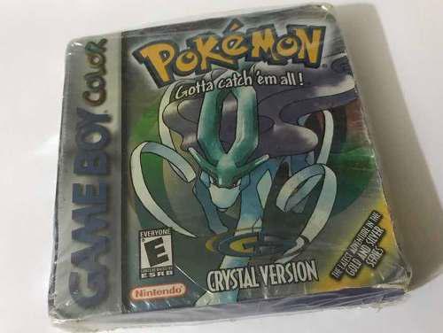 Pokemon crystal gameboy color nuevo! jamás abierto! de cole