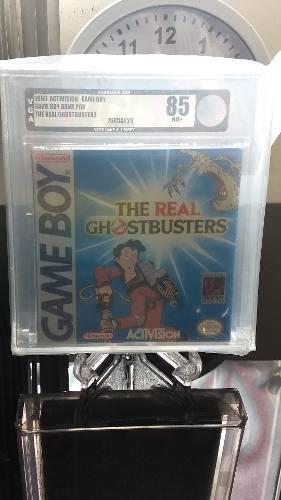 The real ghostbusters game boy, nuevo y sellado