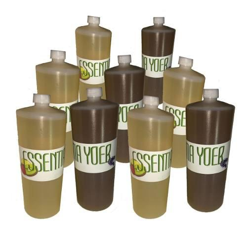 5 litros de esencia + 1 litro de aceite de pino