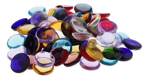 Elegantes mosaicos de vidrio para creación artística