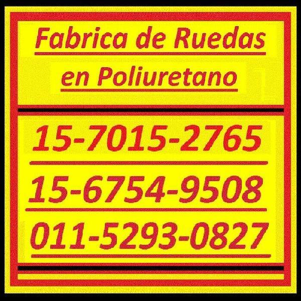 Ruedas poliuretano revestimiento 011-5293-0827 /