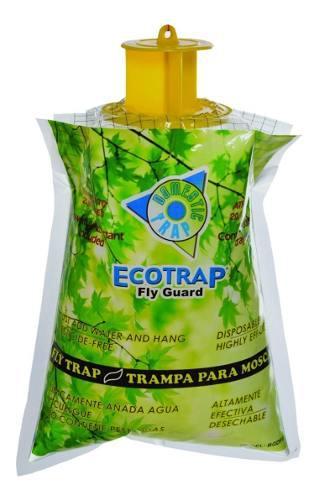 Trampa mata moscas e insectos domestic, ecotrap guard 1pzs