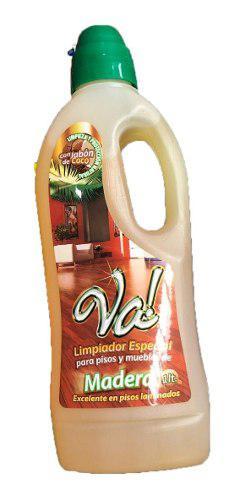 Va! limpiador para pisos muebles de madera piso laminado 1l