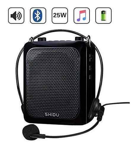 25w amplificador de voz con micrófono con cable de auricula