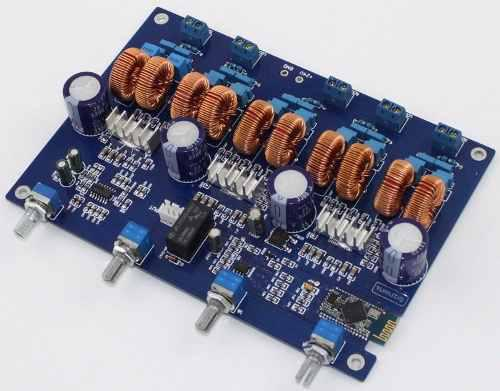 Amplificador audio tpa3116 potencia hifi 4.1 ch 300 watts!