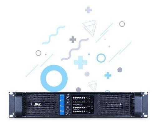 Amplificador bkl 4 c/ fp-10000,10000 watts 4x2500 winners