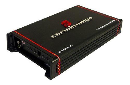 Amplificador cerwin vega h72400.1d monoblock clase d 2400w