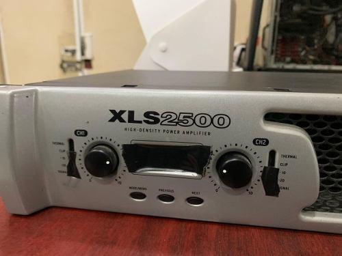 Amplificador crown xls 2500 seminuevo jamas reparado
