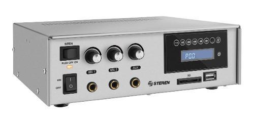Amplificador de audio de 40 watts con bluetooth radio fm mp3