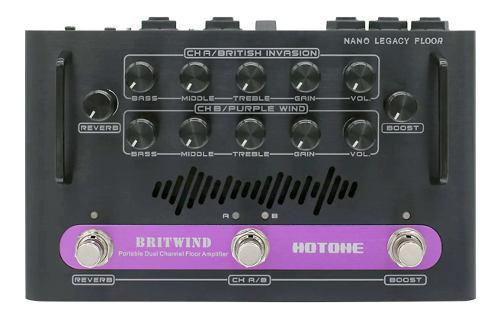 Amplificador de piso dos canales hotone nlf-1 britwind