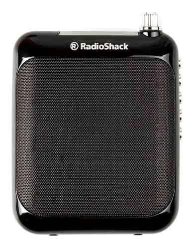 Amplificador de voz portatil radioshack (negro) | 85082