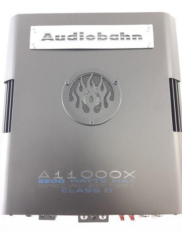Amplificador monoblock 1ch clase d 1ohm audiobahn aa11000x