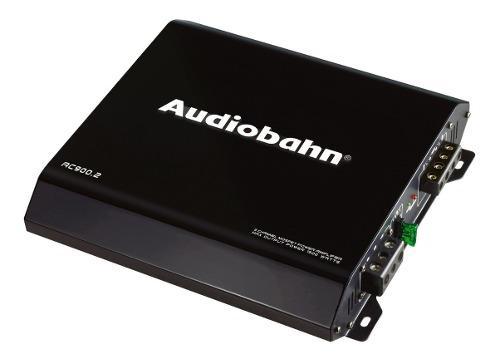 Amplificador para auto 1500w audiobahn 2 canales profesional