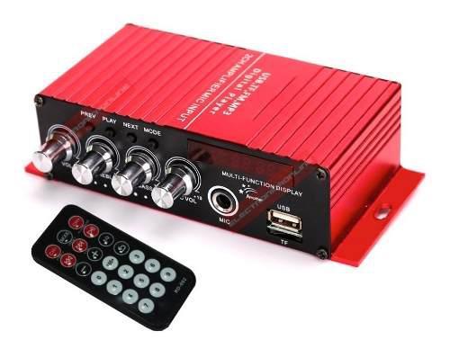 Amplificador para perifoneo bluetooth usb entrada microfono