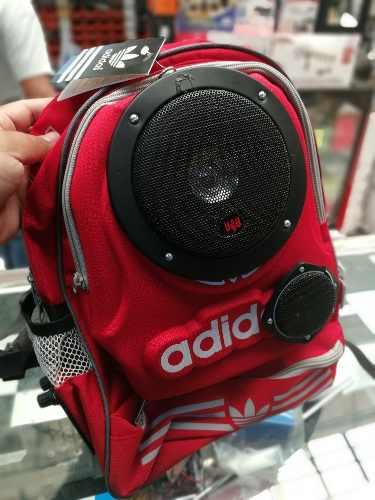 Amplificador recargable 550 watts 10 hrs mochila bluetooth