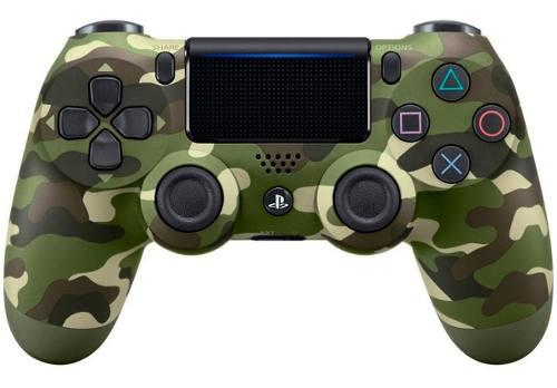 Control ps4 sony play station 4 dualshock 4 green camuflaje