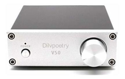 Dilvpoetry v50 de alta fidelidad amplificador audio estéreo