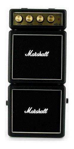 Marshall ms-4 micro amplif negro,c/2 bocinas y 4 watt