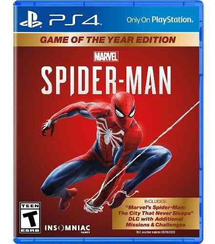 Marvel's spider man goty game of the year edition ps4 nuevo