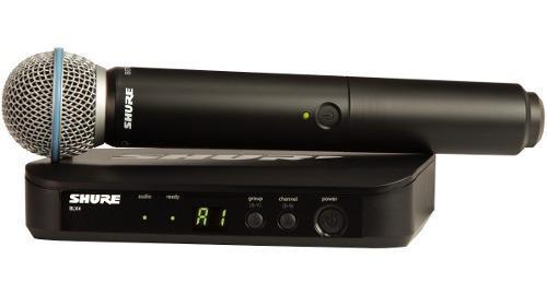 Micrófono inalámbrico shure blx24/b58, meses y envío.
