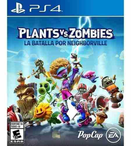 Plants vs zombies batalla por neighborville ps4 nuevo fisico