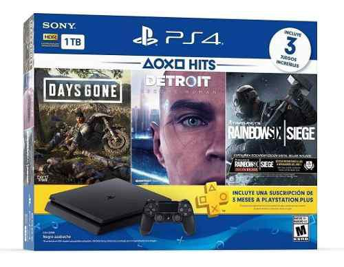 Playstation 4 ps4 slim 1tb con hits collection