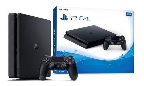 Playstation 4 slim 1tb nuevo + 6 juegos spider man