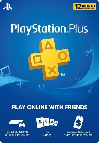 Playstation psn plus 12 meses 365dias 1 año ps4-ps3 +