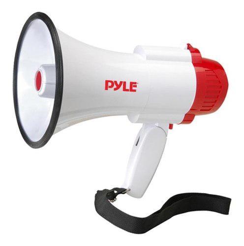 Pyle pro megafono con sirena - amplifica tu voz - pmp35r