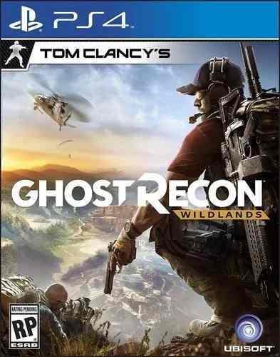Tom clancy's ghost recon wildlands - playstation 4 nuevo
