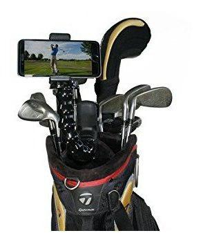 Gadgets de golf sistema de grabación swing | jaws clamp mo
