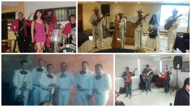Grupo musical versatil mariachi norteño trio romantico