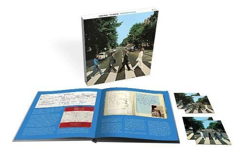 The beatles abbey road 50 anniversary box set 3cds + bluray