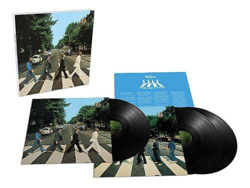 The Beatles Abbey Road 50th Anniversary 3 Lp Vinyl