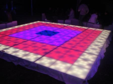 Dj luz y sonido,pantallas, pista iluminada, zanqueros,