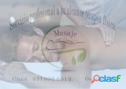 Terapias alternativas de masaje