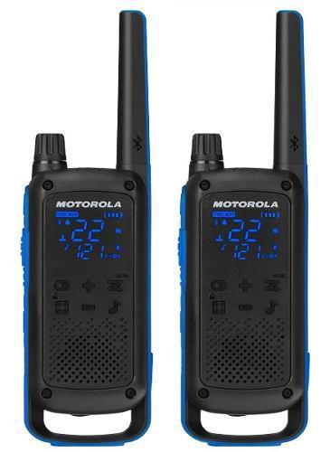 2 radios comunicacion motorola t800 walkie talkie c/envio