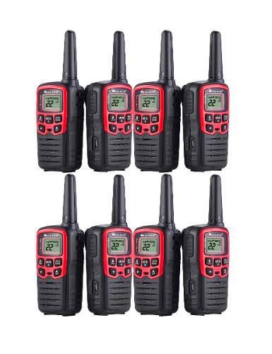 4 kit radios midland x talker t31vp3-4 41km* 26 mi vs agua