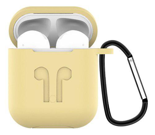 Funda protectora de silicona antipérdida para apple airpods