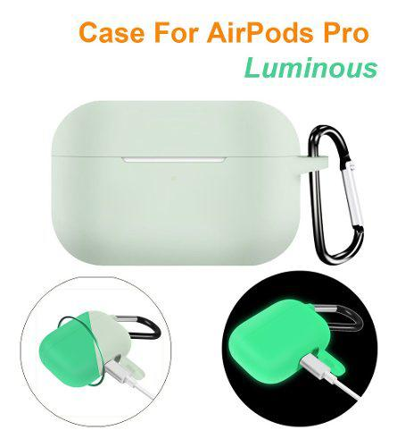 Funda Protectora De Silicona Luminosa Para AirPods Pro Wirel