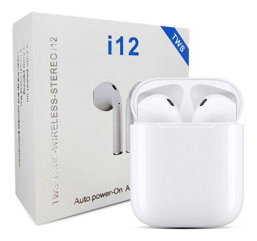 I12 tws wireless bluetooth 5.0 auriculares control táctil b
