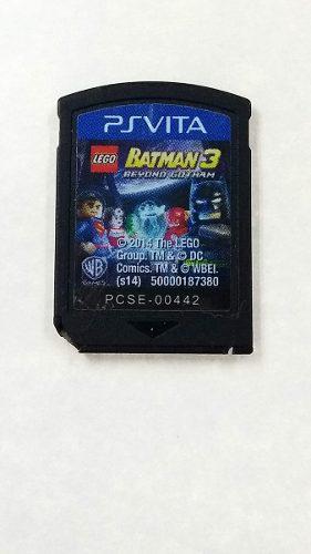 Lego batman 3 para ps vita en gordito coleccionables