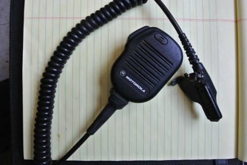 Micrófono solapa motorola ht1000 xts1500 xt5000 nmn6193b