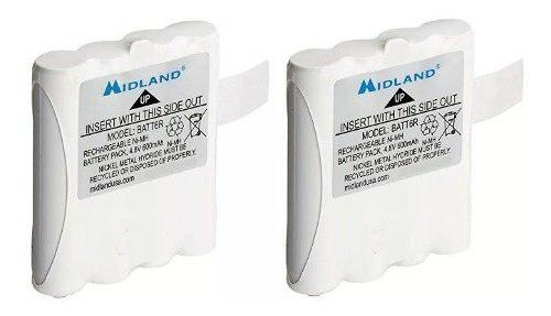 Midland avp8 baterias recargables paquete con 2