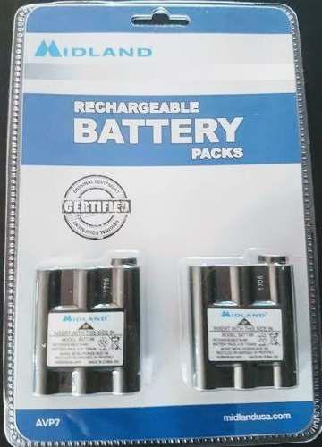 Midland avp8 batt5r batería recargable para radios gxt lxt