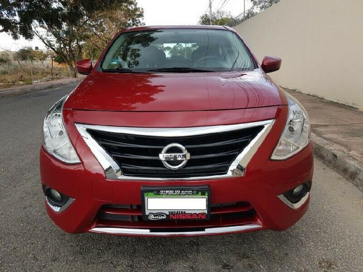 Nissan versa 2015 standar advance unico dueño garantia