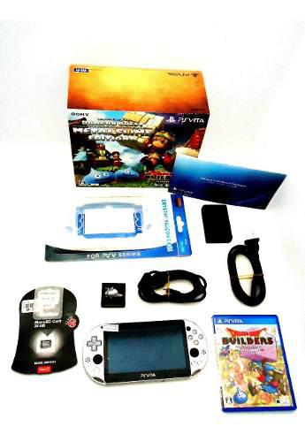 Ps vita slim metal slime edition 32 gb c/ juegos etc