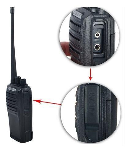 Radio baofeng uv6 sin pantalla doble banda