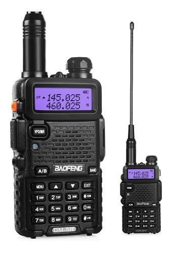 Radio digital portatil baofeng dm-5r vhf/uhf 100% nuevo