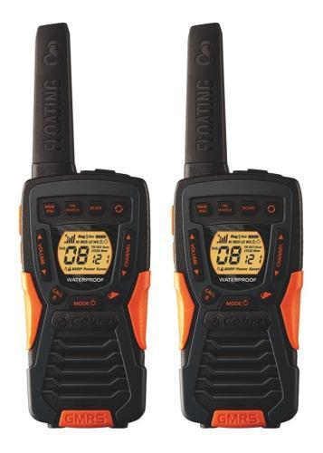 Radios cobra flotantes 59km* 37 millas acxt1035r flt vs agua